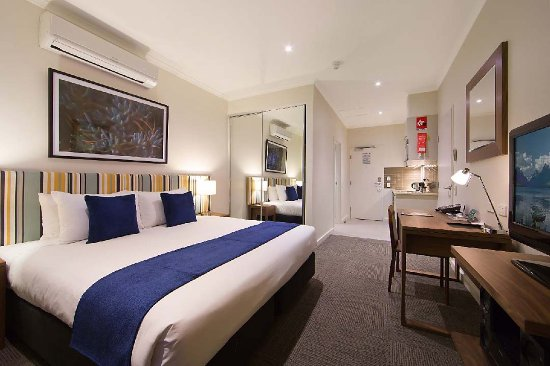 Whyalla, أستراليا: Studio Bedroom Kitchen