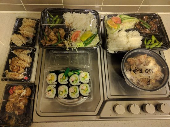 Balgowlah, Australien: Our small order that took over 75 minutes to prepare