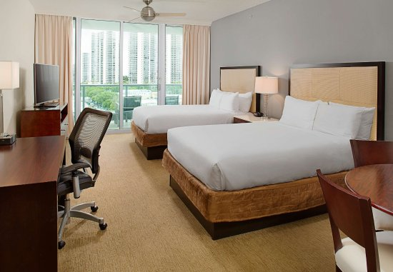 Residence Inn Fort Lauderdale Intracoastal/Il Lugano: Queen/Queen Studio Suite