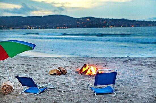 Monterey Tides, a Joie de Vivre hotel: Beach Fire