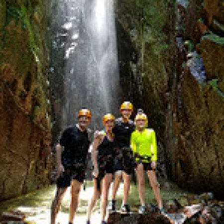 Rocaliza Adventure Tours: Base of the waterfalls