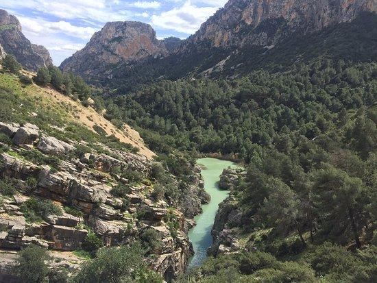 El Chorro, Spagna: Волшебные виды!