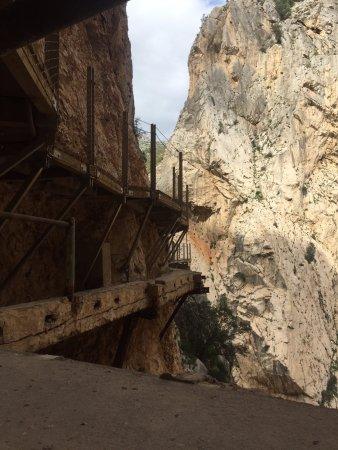 El Chorro, Spagna: Старая и новая тропа