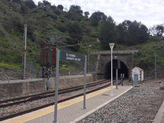 El Chorro, Spagna: Железнодорожная станция
