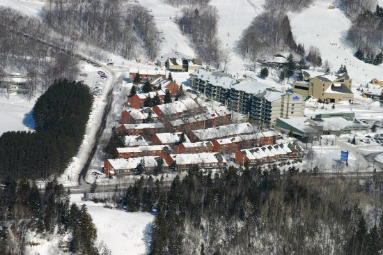 Chalets Mont Sainte-Anne : View of Chalets
