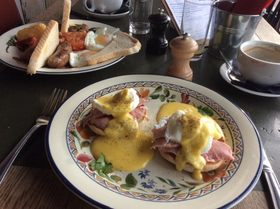 Bexhill-on-Sea, UK: Best Eggs Benedict