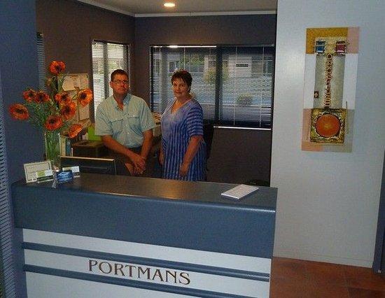 Portmans Motor Lodge: Lobby