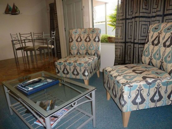 Portmans Motor Lodge: One bedroom/Spa