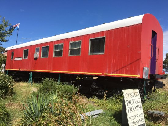 Talbot, Australia: Train carriage