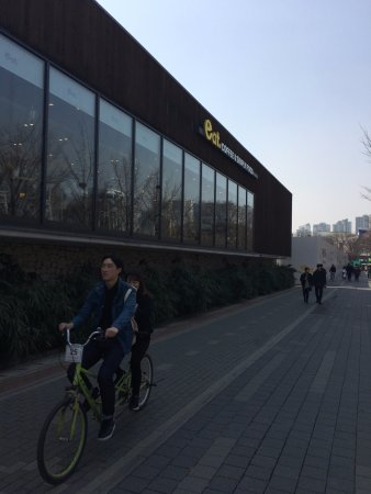 Olympic Park One Of Cafe In The