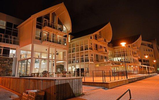 Molde, Noruega: Hotel Front