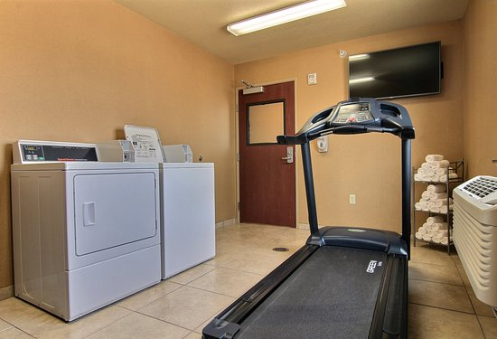 Linton, Dakota del Norte: Guest Laundry & Fitness Center