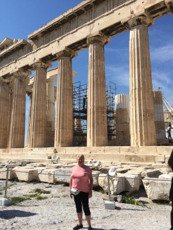 Herodion Hotel: Up at the acropolis