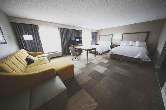 Bolton, Canada: Double queen room
