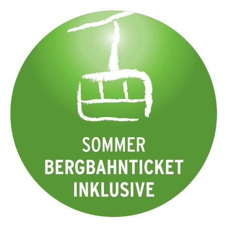 Riezlern, ออสเตรีย: Im Sommer ist das Bergbahnticket inkl. im Zimmerpreis