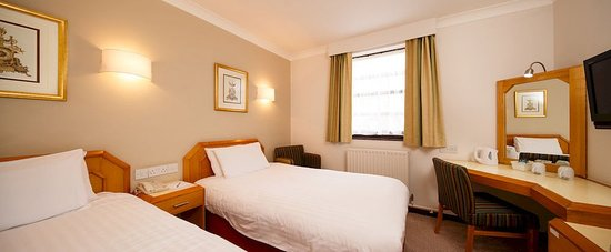 Dragonfly Hotel Bury St Edmunds: Two Single Beds