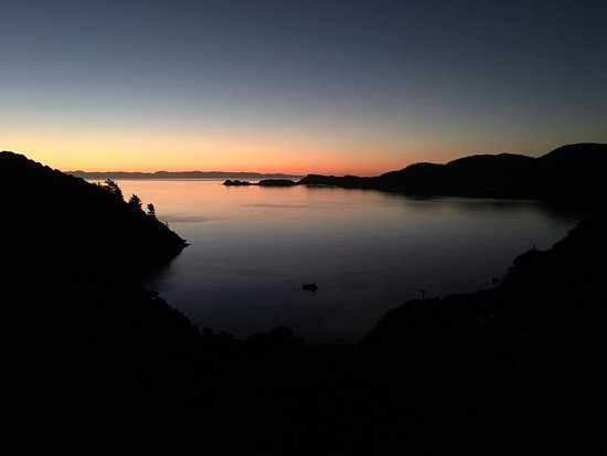 Ngaio Bay, นิวซีแลนด์: View from Seabreeze Cottage
