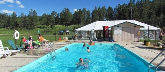High Country Guest Ranch: Pool
