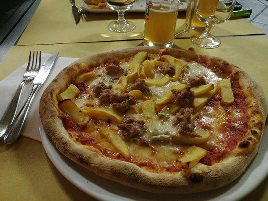 Settimo Torinese, Italien: pizza
