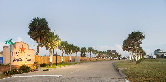 Galveston Island, TX: Welcome to Stella Mare RV Resort