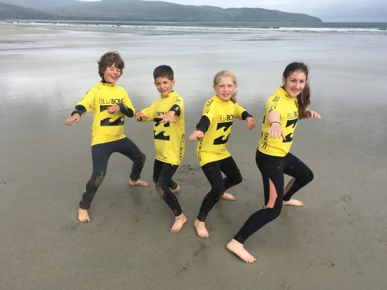 Dingle Surf: Kids Surf Camps are the best activity to keep your youngsters entertained on holiday.