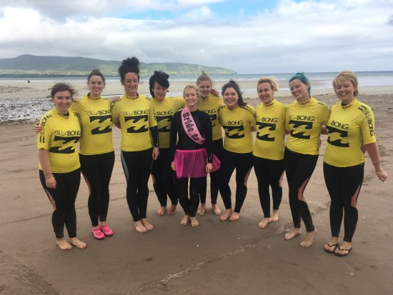 Dingle Surf: Surfing is a fantastic way to bond a group together making it ideal for Stag & Hen Parties.