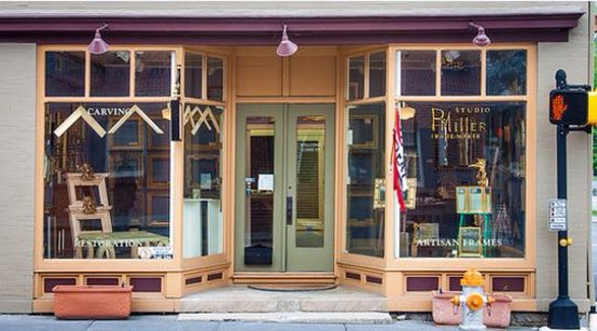 Entrance to P. H. Miller Studio in Berryville, VA