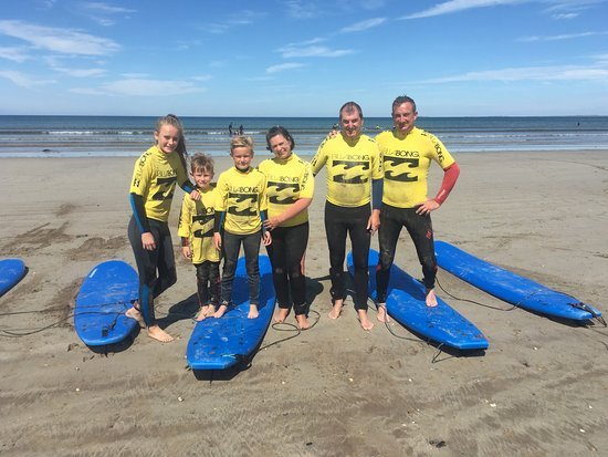 Dingle Surf: Surfing can be done by all ages making it the ultimate family experience.