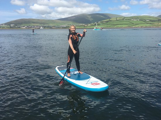 Dingle Surf: Discover Dingle Bay on a Stand Up Paddle Board, improving your health and balance.