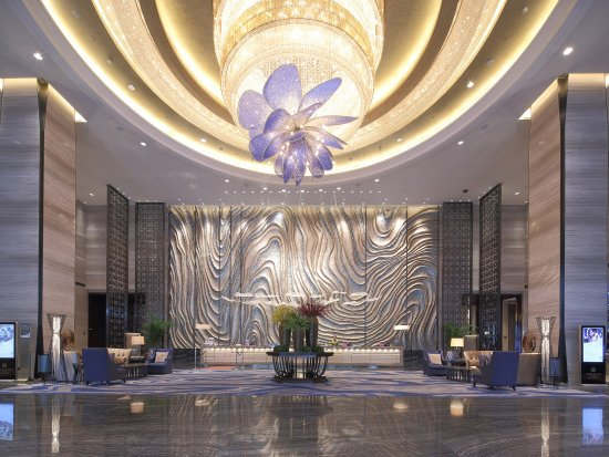 Huangshi, China: Hotel Lobby