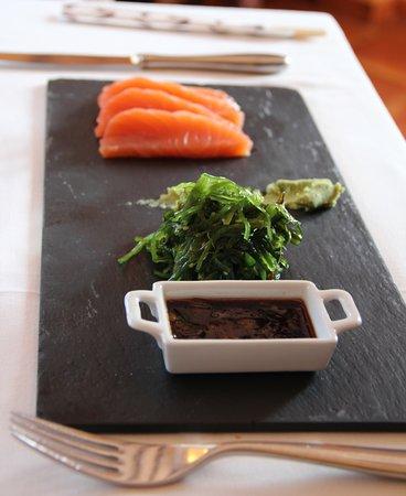 Gata de Gorgos, Spain: Sashimi van zalm