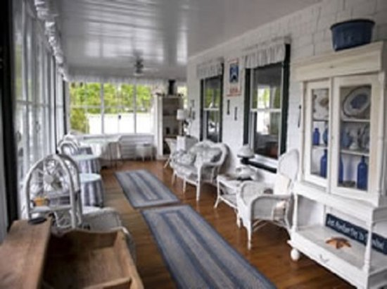 The Clark House: Porch