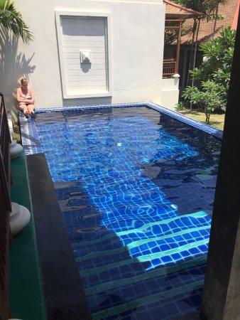 Private 4m pool at apartment