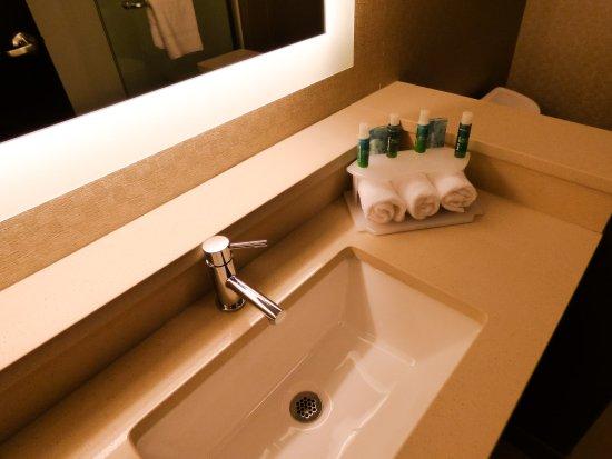 Holiday Inn Express Plymouth, MI - Guestroom Bathroom Amenities