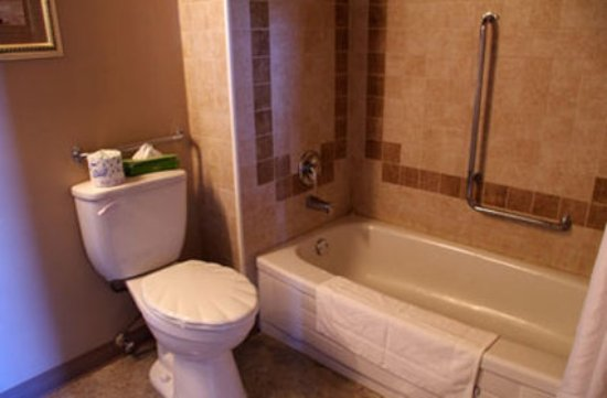 Bella Vista Inn : Room Bathroom