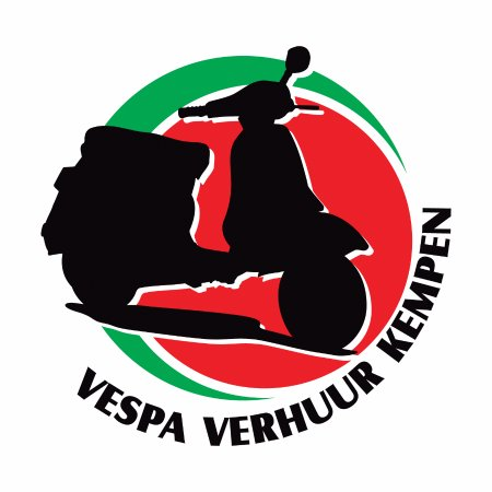 Turnhout, Belgia: Logo Vespa Verhuur Kempen
