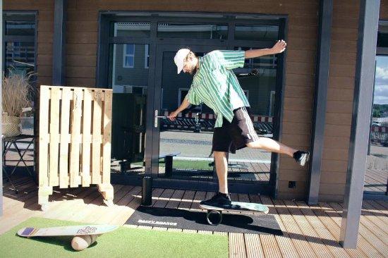 Saltwater Shop: Balance Boarding