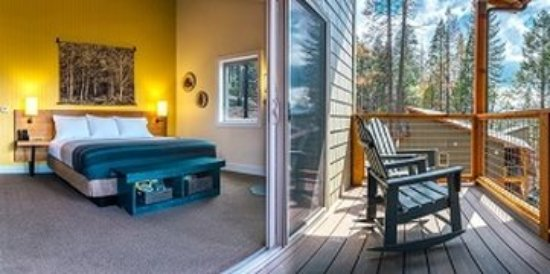 Groveland, Californië: Rush Creek Room Balcony (Kim Carroll )