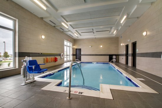 Peoria, IL: Indoor saline pool- easy on your hair, skin and eyes.