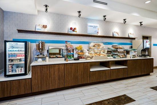 Round Rock, Teksas: Breakfast Area