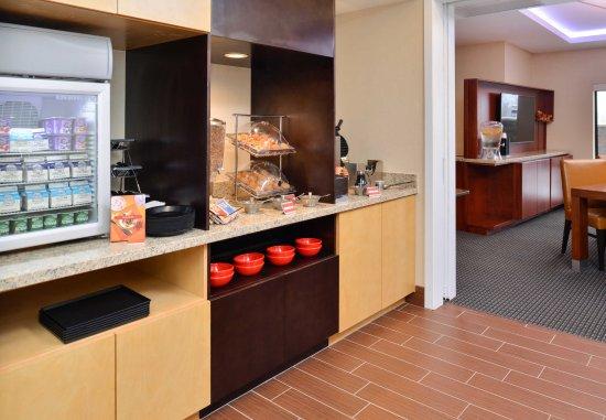 Novi, MI: Breakfast Area