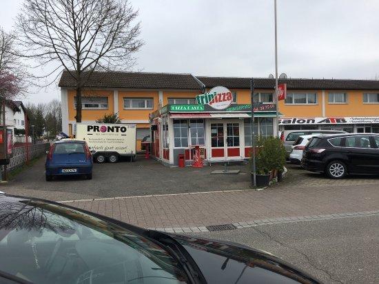 Wiesloch, Alemanha: Ist ein Imbiss, kein Restaurant!