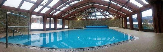 Destne, Czech Republic: vyhřívaný hotelový bazén