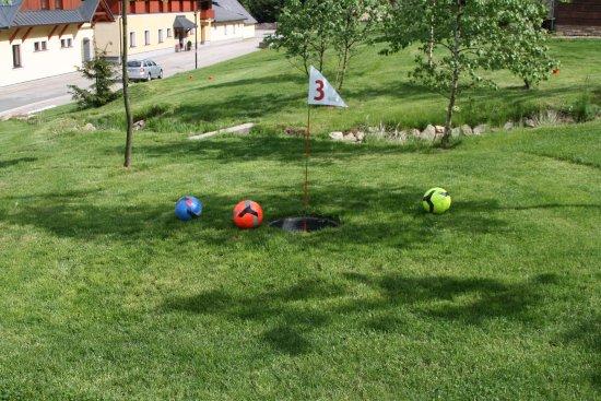 Destne, Czech Republic: FootGolf