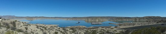Elephant Butte Lake State Park: Panoramic view of Elephant Butte Lake