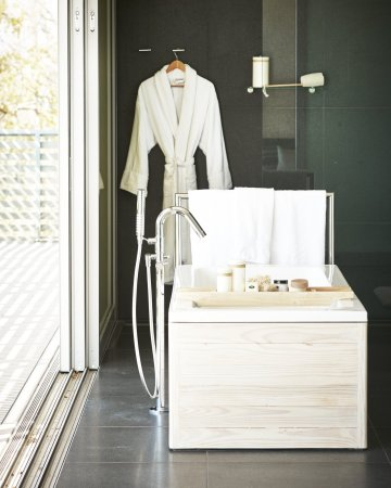 Upper Moutere, New Zealand: Owner's Penthouse Bathroom