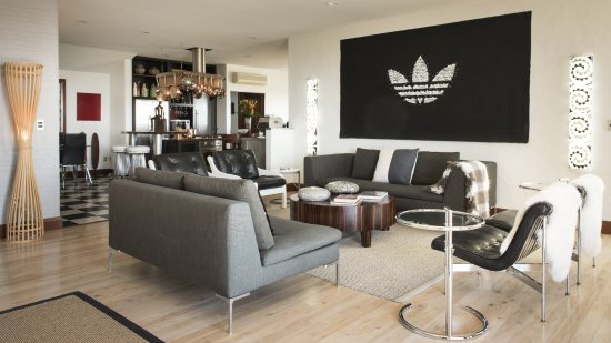 Upper Moutere, Selandia Baru: Villa Lounge