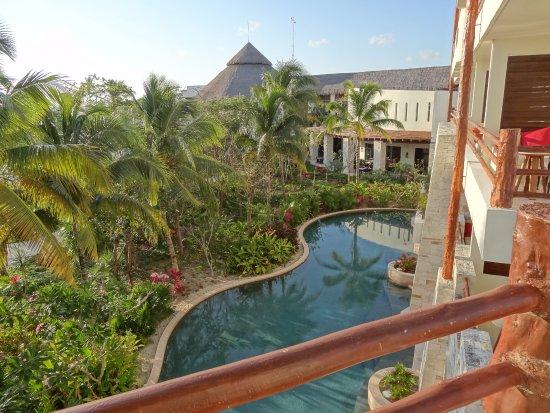 Vue de la chambre photo de secrets akumal riviera maya for Chambre public affairs