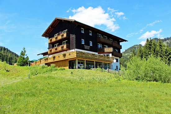 Riezlern, ออสเตรีย: Der Hörnlepass bei schönstem Wetter