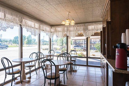 บีเวอร์, ยูทาห์: Breakfast Area